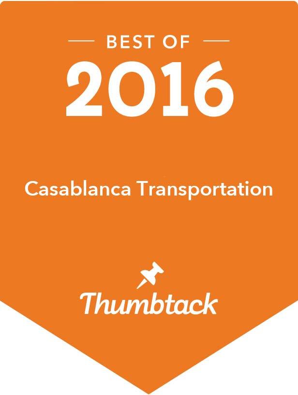 Casablanca Transportation Best of 2016 Thumbtack